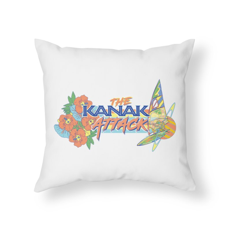 The Kanak Attack Home Throw Pillow by Dega Studios