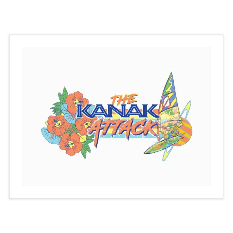 The Kanak Attack Home Fine Art Print by Dega Studios