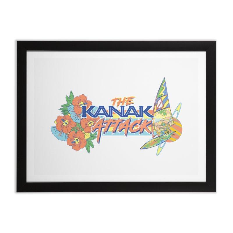 The Kanak Attack Home Framed Fine Art Print by Dega Studios