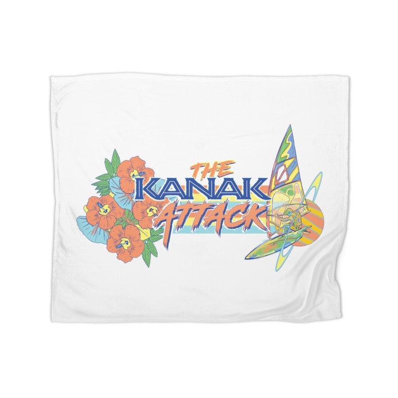 The Kanak Attack Home Fleece Blanket Blanket by Dega Studios