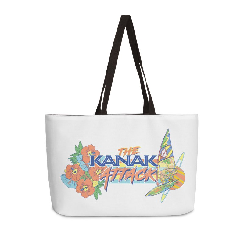 The Kanak Attack Accessories Weekender Bag Bag by Dega Studios