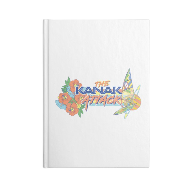 The Kanak Attack Accessories Lined Journal Notebook by Dega Studios