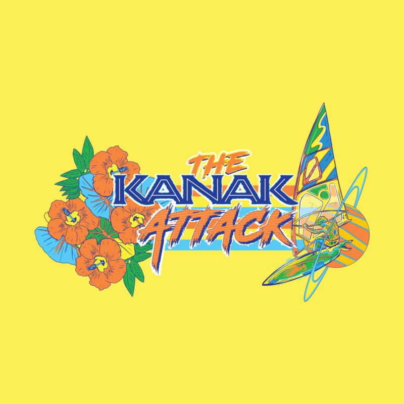The Kanak Attack Men's Longsleeve T-Shirt by Dega Studios