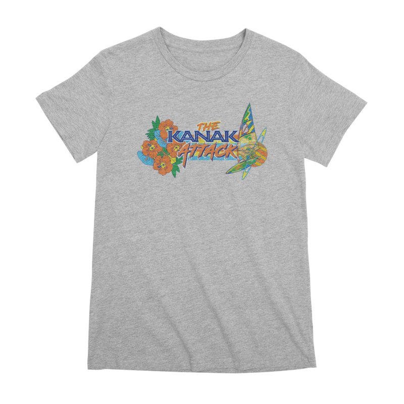 The Kanak Attack Women's Premium T-Shirt by Dega Studios