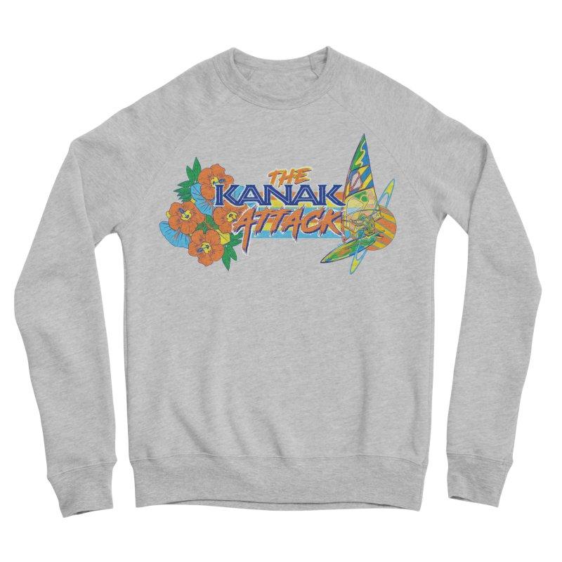 The Kanak Attack Women's Sponge Fleece Sweatshirt by Dega Studios