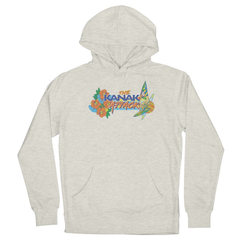 The Kanak Attack Men's Pullover Hoody by Dega Studios