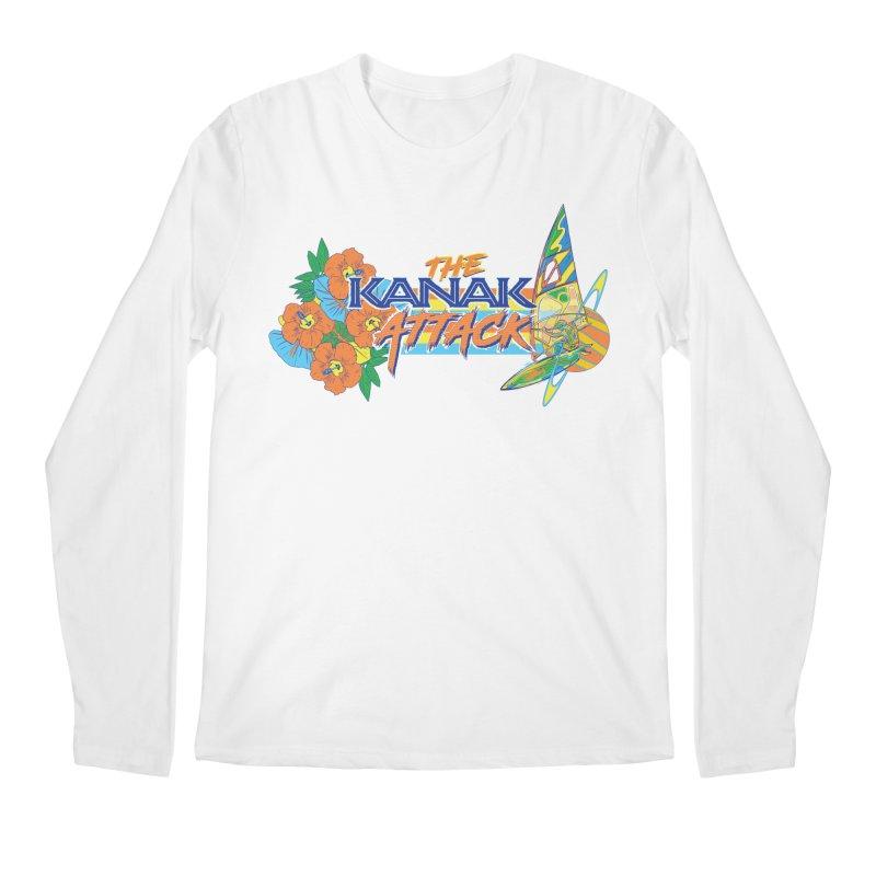 The Kanak Attack Men's Regular Longsleeve T-Shirt by Dega Studios
