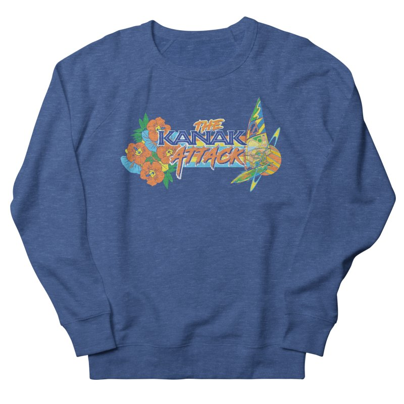The Kanak Attack Men's Sweatshirt by Dega Studios