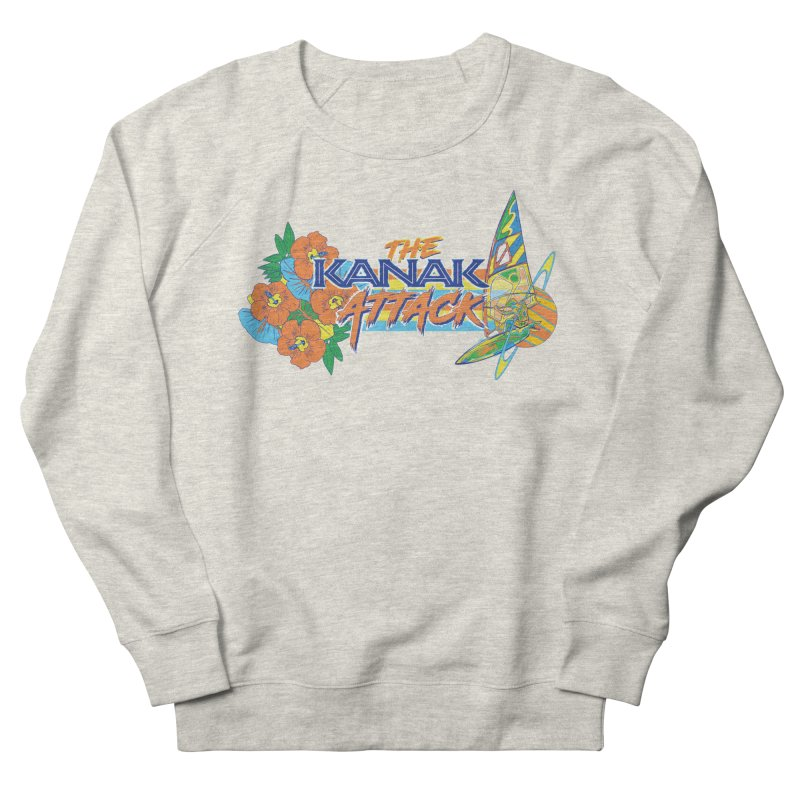 The Kanak Attack Men's French Terry Sweatshirt by Dega Studios