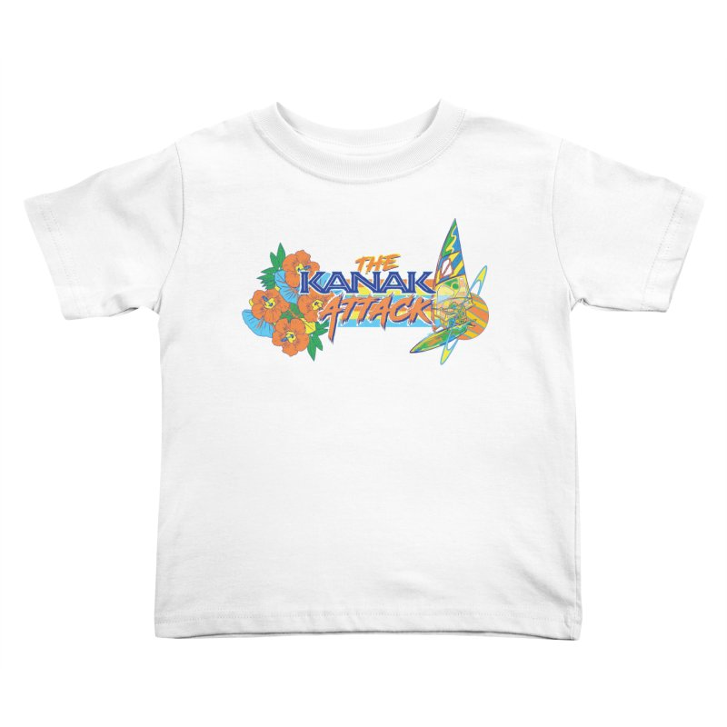 The Kanak Attack Kids Toddler T-Shirt by Dega Studios