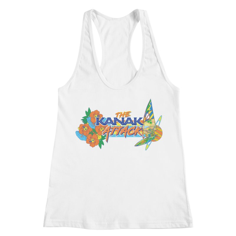 The Kanak Attack Women's Racerback Tank by Dega Studios