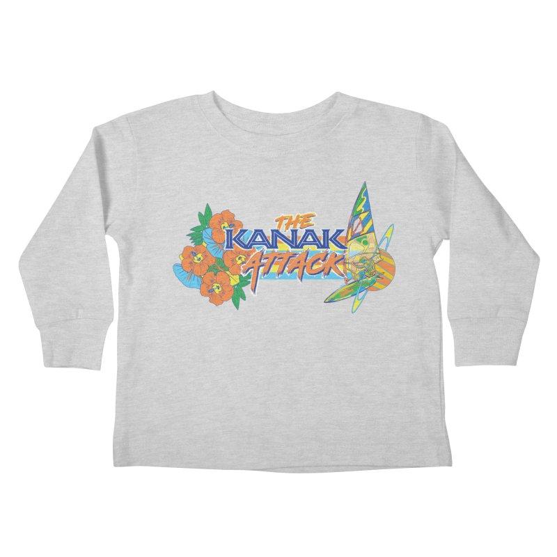 The Kanak Attack Kids Toddler Longsleeve T-Shirt by Dega Studios
