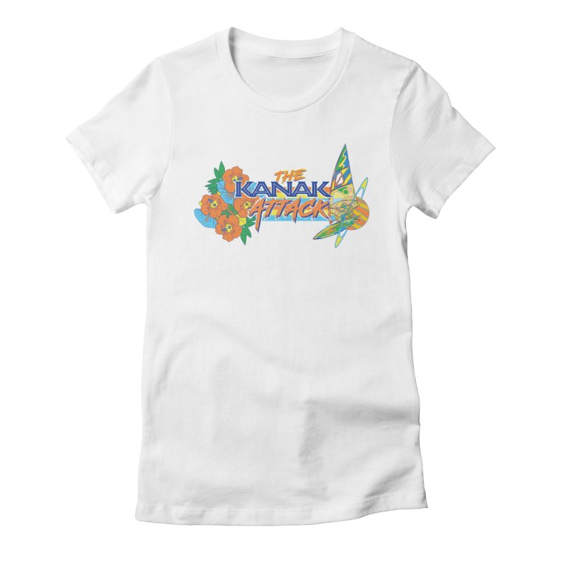 The Kanak Attack Women's T-Shirt by Dega Studios