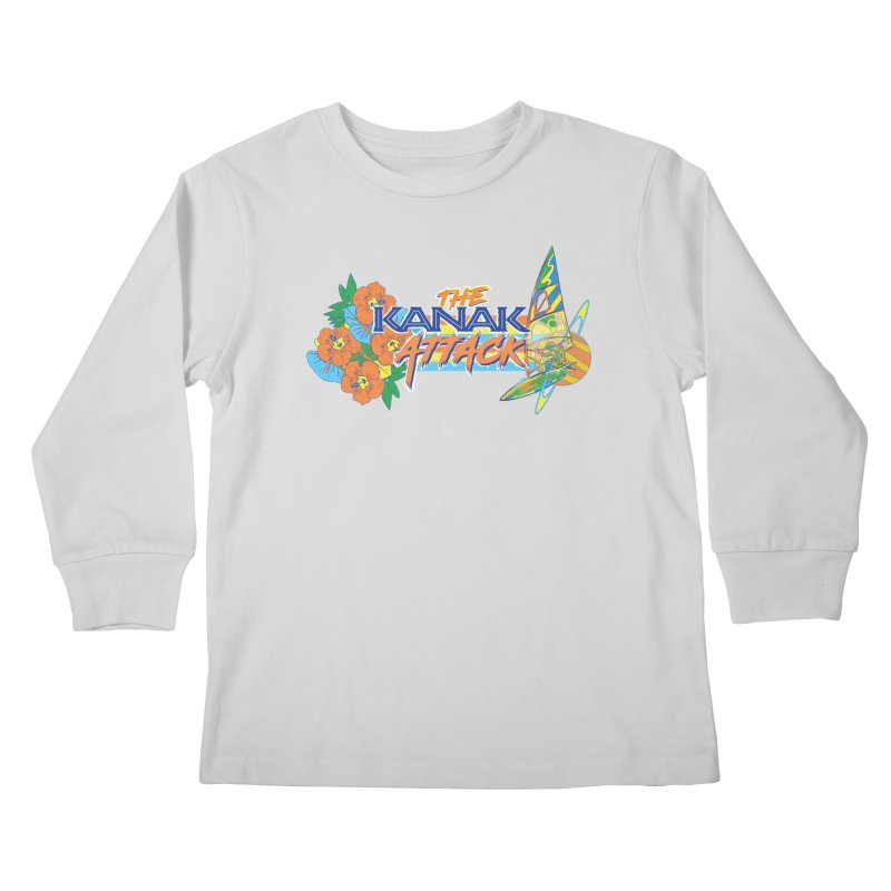 The Kanak Attack Kids Longsleeve T-Shirt by Dega Studios