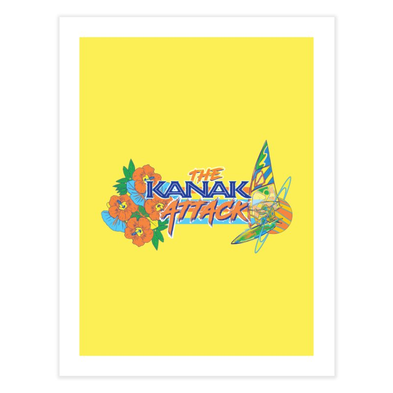 The Kanak Attack Home Fine Art Print by Dega Studios