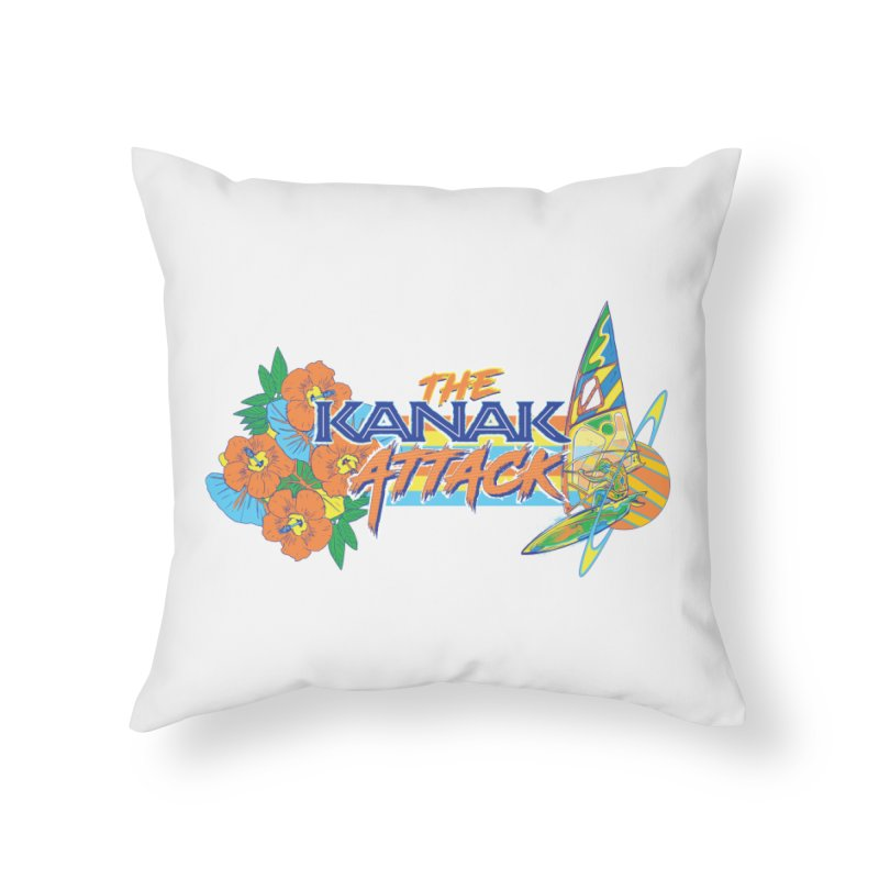 The Kanak Attack Home Throw Pillow by Dega Studios