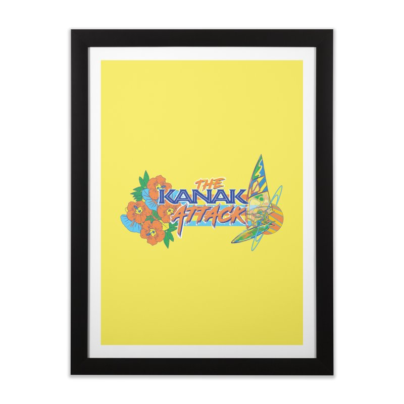 The Kanak Attack Home Framed Fine Art Print by Dega Studios
