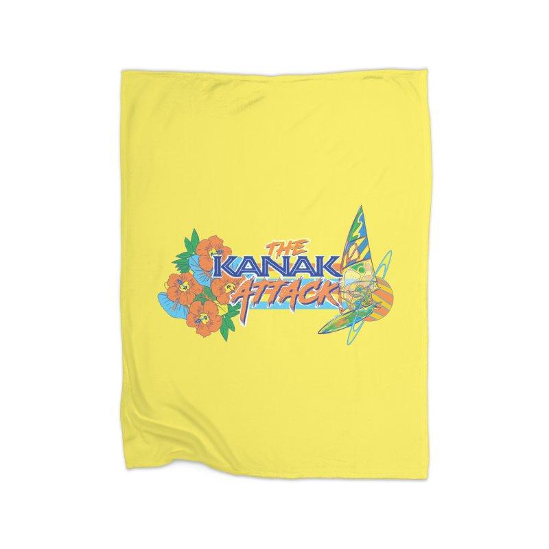 The Kanak Attack Home Blanket by Dega Studios