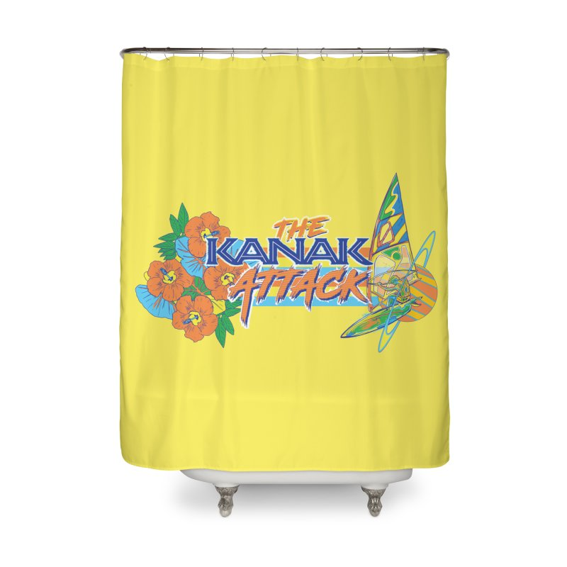 The Kanak Attack Home Shower Curtain by Dega Studios