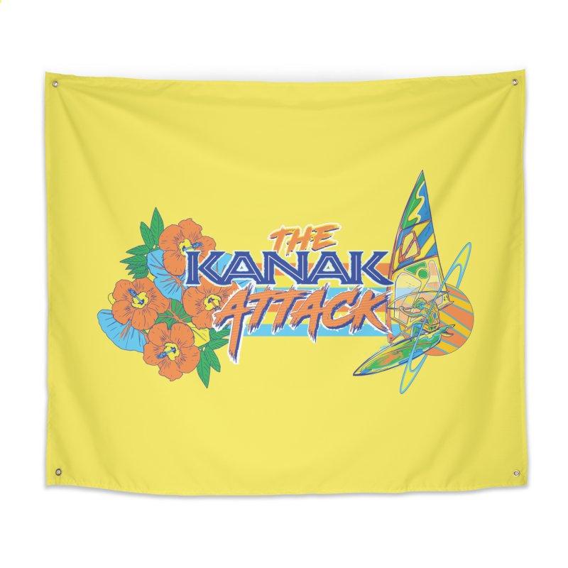 The Kanak Attack Home Tapestry by Dega Studios