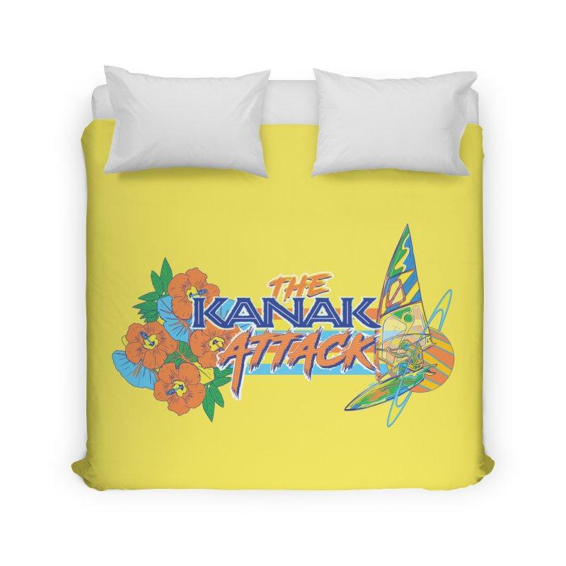 The Kanak Attack Home Duvet by Dega Studios