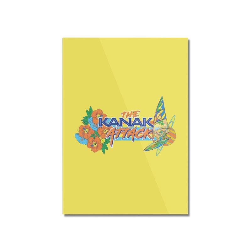 The Kanak Attack Home Mounted Acrylic Print by Dega Studios