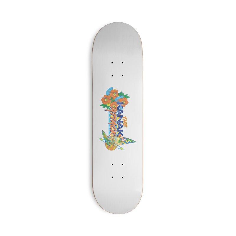 The Kanak Attack Accessories Skateboard by Dega Studios
