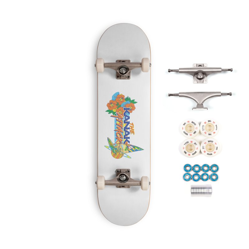 The Kanak Attack Accessories Complete - Premium Skateboard by Dega Studios