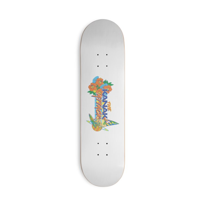 The Kanak Attack Accessories Deck Only Skateboard by Dega Studios