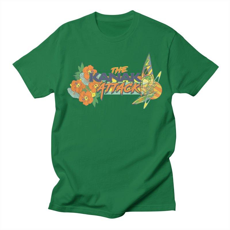 The Kanak Attack Men's T-Shirt by Dega Studios