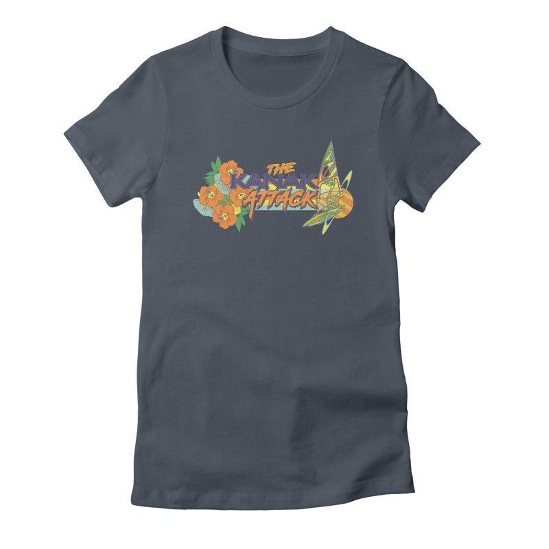 The Kanak Attack Women's T-Shirt by Dega Studios