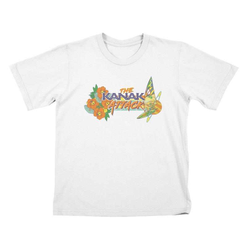 The Kanak Attack Kids T-Shirt by Dega Studios