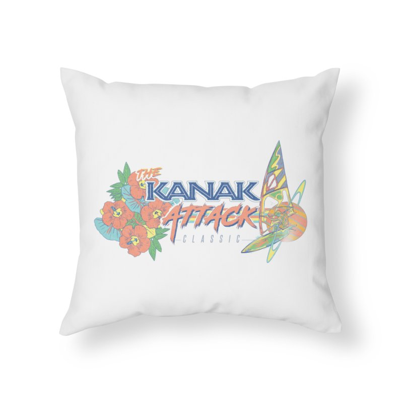 The Kanak Attack Classic Home Throw Pillow by Dega Studios