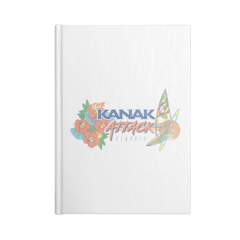 The Kanak Attack Classic Accessories Notebook by Dega Studios