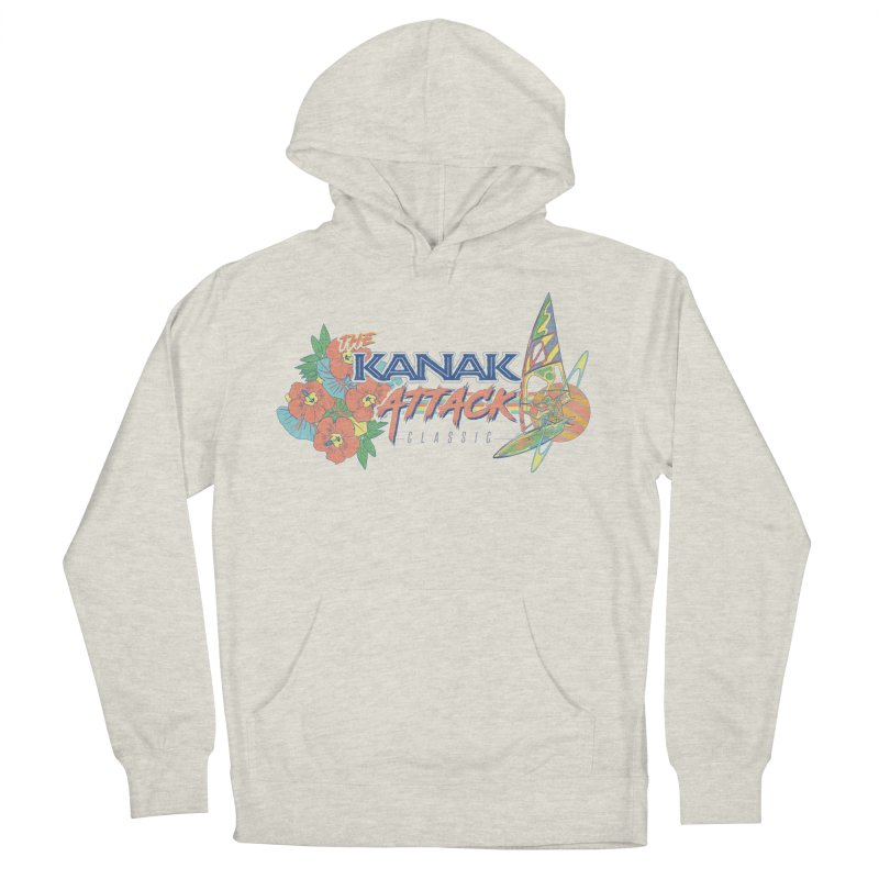 The Kanak Attack Classic Women's French Terry Pullover Hoody by Dega Studios