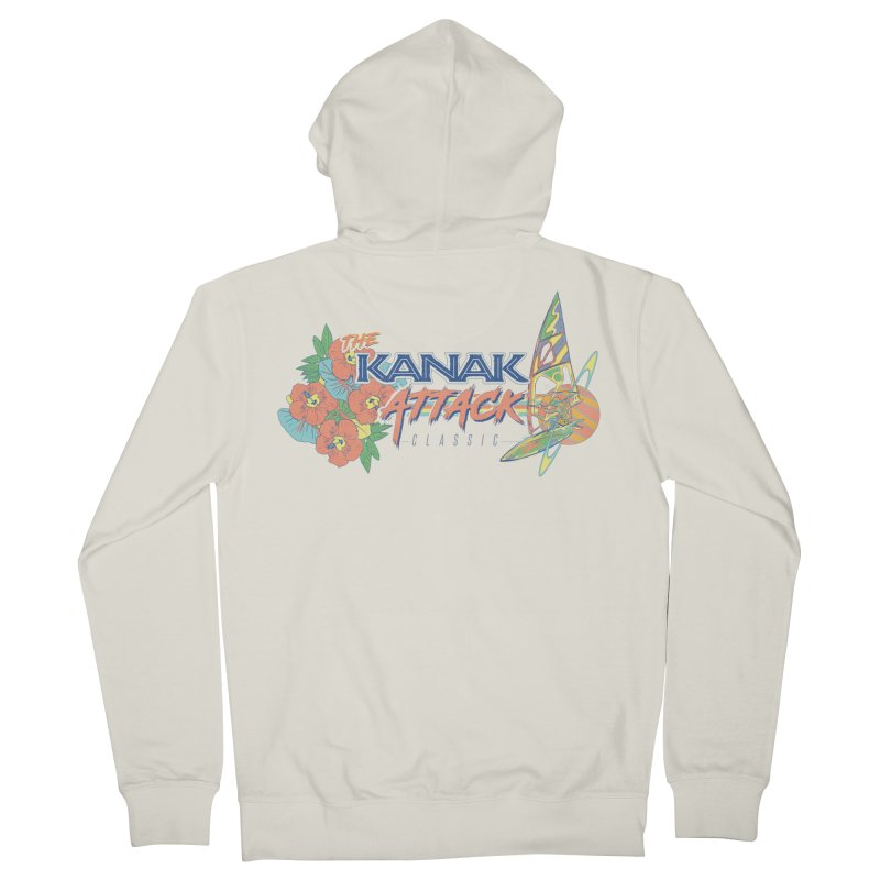 The Kanak Attack Classic Women's Zip-Up Hoody by Dega Studios