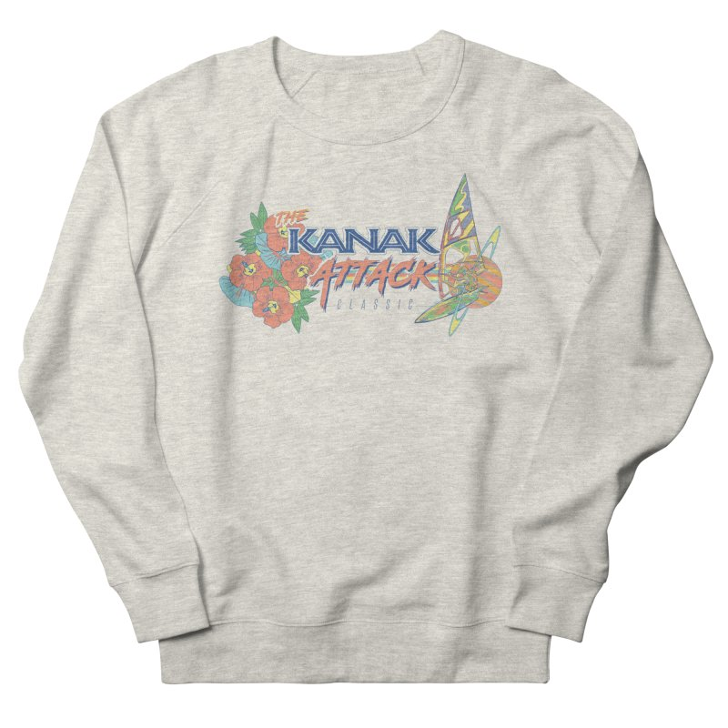 The Kanak Attack Classic Men's French Terry Sweatshirt by Dega Studios