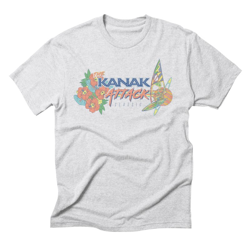 The Kanak Attack Classic Men's Triblend T-shirt by Dega Studios