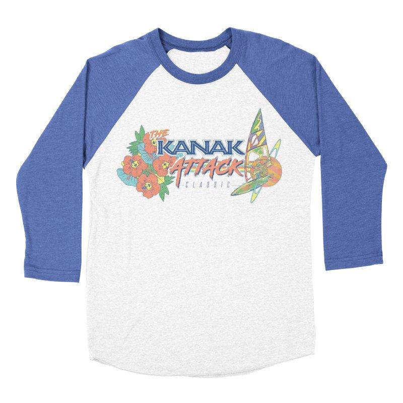 The Kanak Attack Classic Men's Baseball Triblend Longsleeve T-Shirt by Dega Studios
