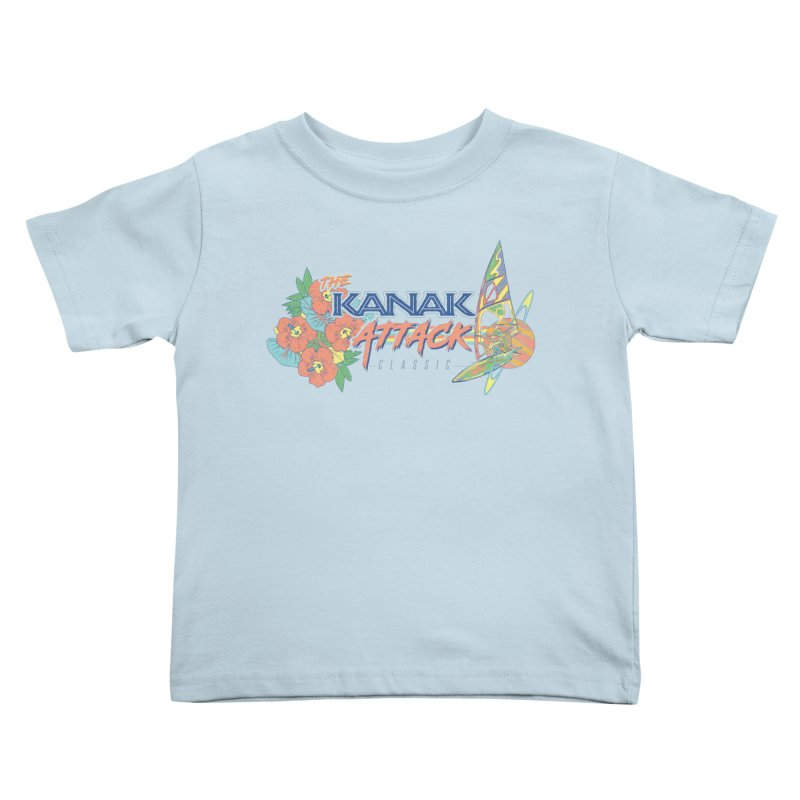The Kanak Attack Classic Kids Toddler T-Shirt by Dega Studios