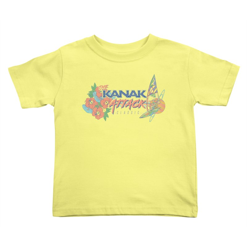 The Kanak Attack Classic Kids Toddler T-Shirt by Dega Studios