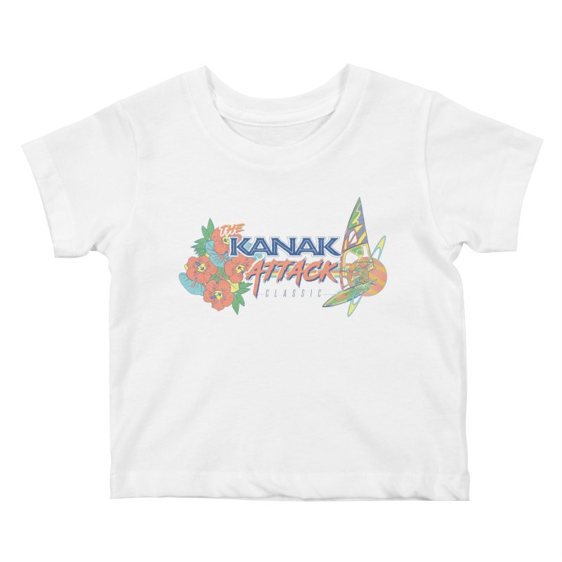 The Kanak Attack Classic Kids Baby T-Shirt by Dega Studios
