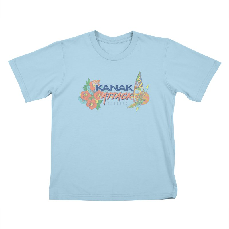The Kanak Attack Classic Kids T-Shirt by Dega Studios