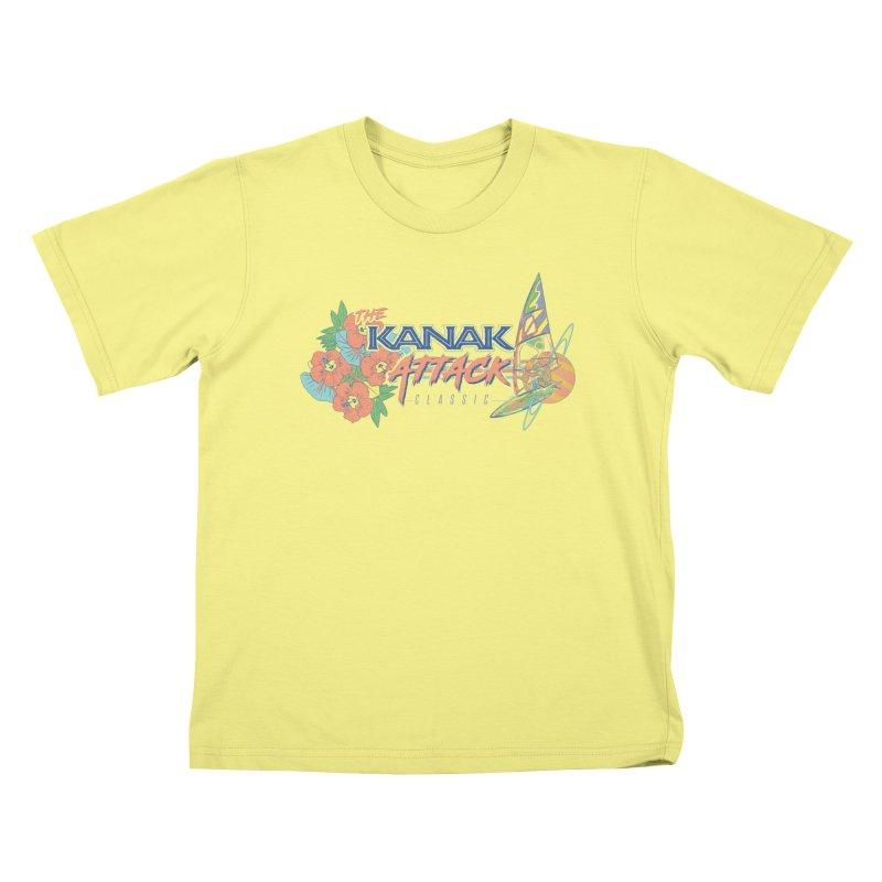 The Kanak Attack Classic Kids T-shirt by Dega Studios