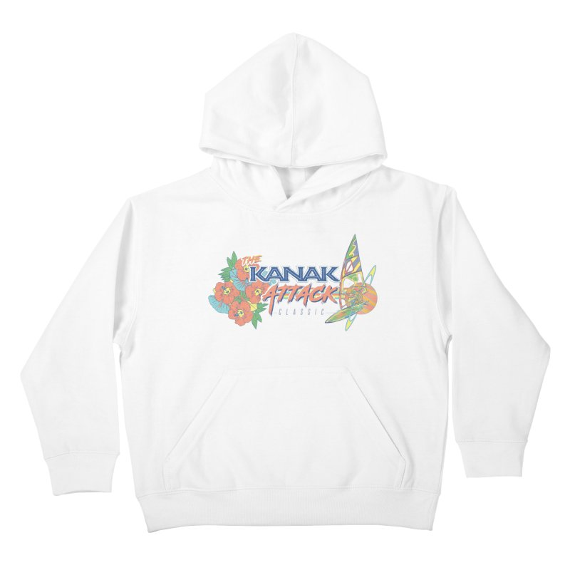 The Kanak Attack Classic Kids Pullover Hoody by Dega Studios