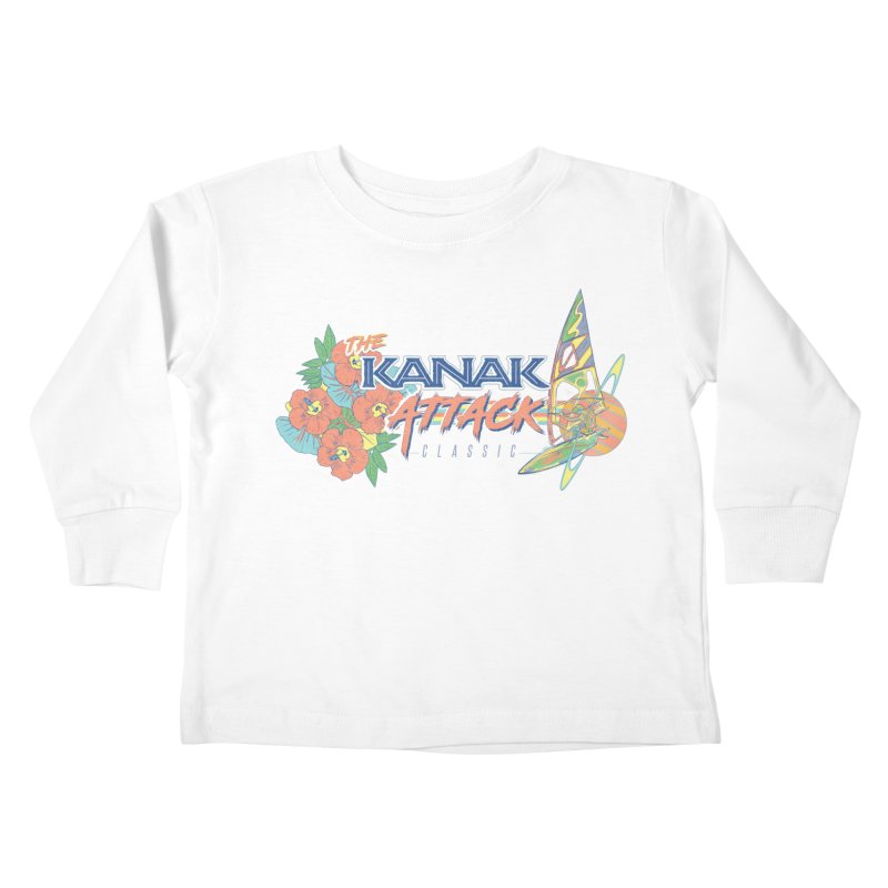 The Kanak Attack Classic Kids Toddler Longsleeve T-Shirt by Dega Studios