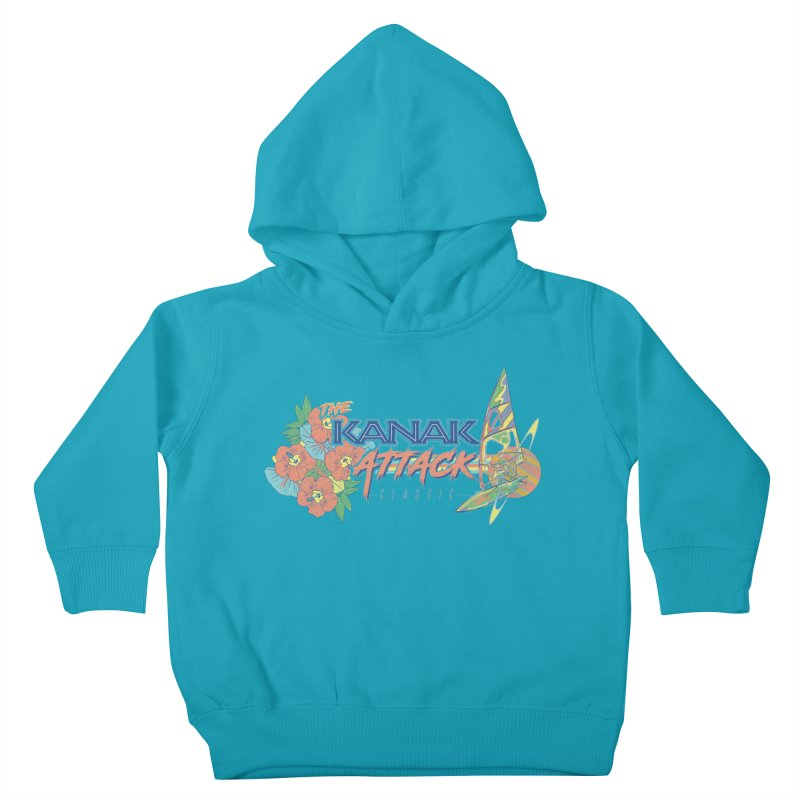 The Kanak Attack Classic Kids Toddler Pullover Hoody by Dega Studios