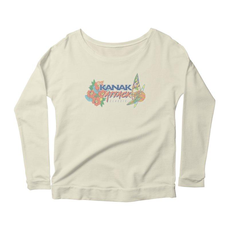 The Kanak Attack Classic Women's Scoop Neck Longsleeve T-Shirt by Dega Studios