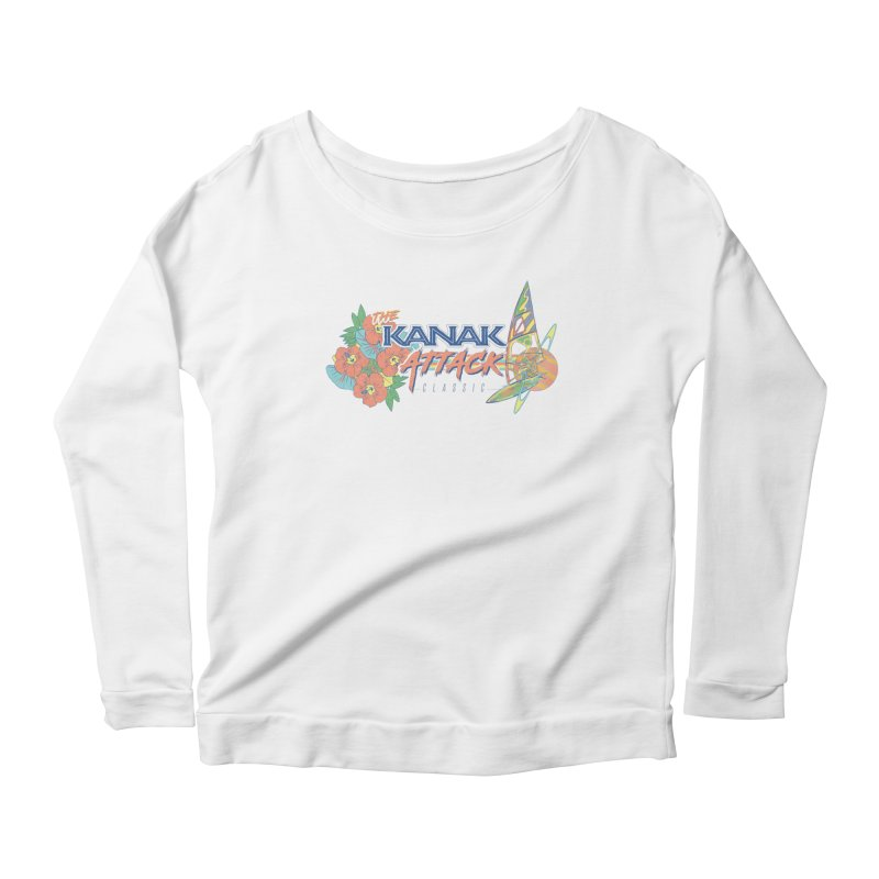 The Kanak Attack Classic Women's Scoop Neck Longsleeve T-Shirt by Dega Studios