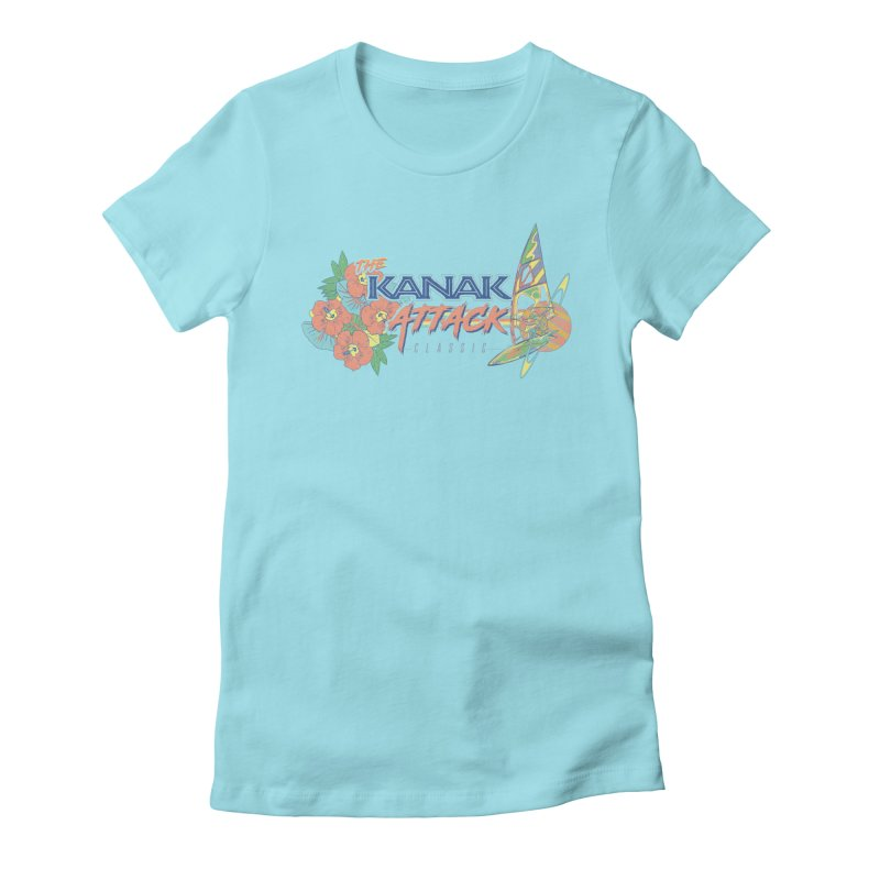 The Kanak Attack Classic Women's Fitted T-Shirt by Dega Studios